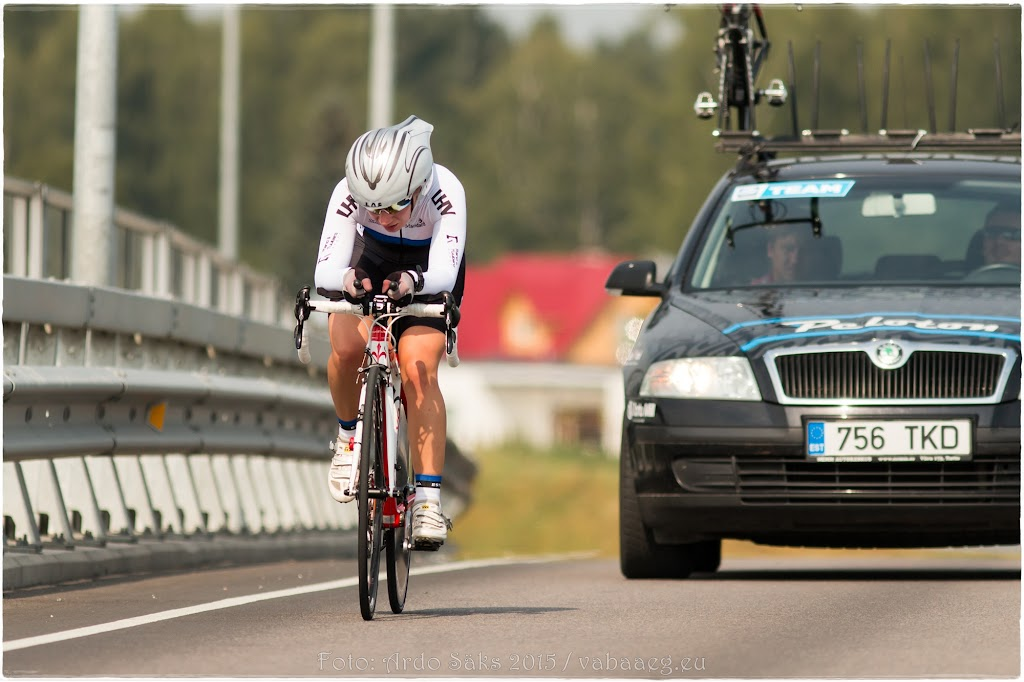 EUROPEAN ROAD CHAMPIONSHIPS 2015, LADIES JUNIOR TIME TRIAL / photo: Ardo Säks