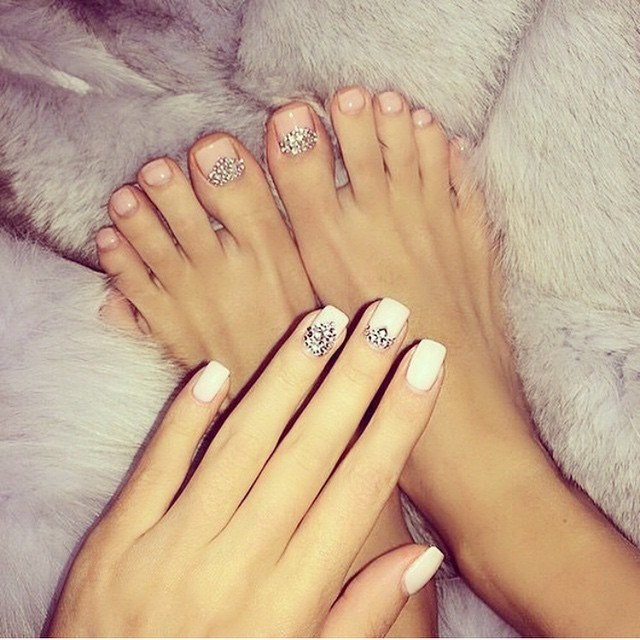 Latest Wedding Toe Nail Art Design Ideas For 2017 Styles Art