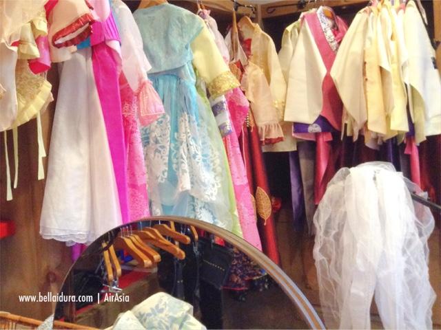 baju tradisi korea, jalan - jalan ke korea