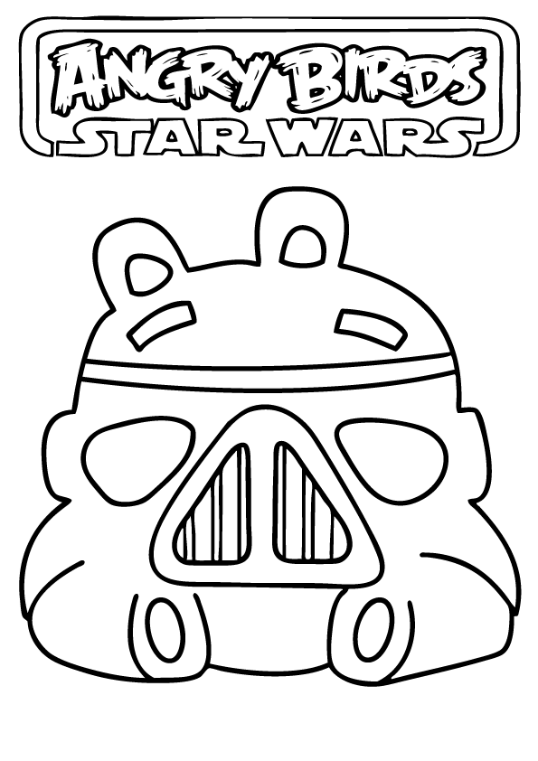 Just print them out for your next disney party! Star Wars Coloring Pages Printable