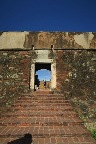 Santa Rosa Castle Steps
