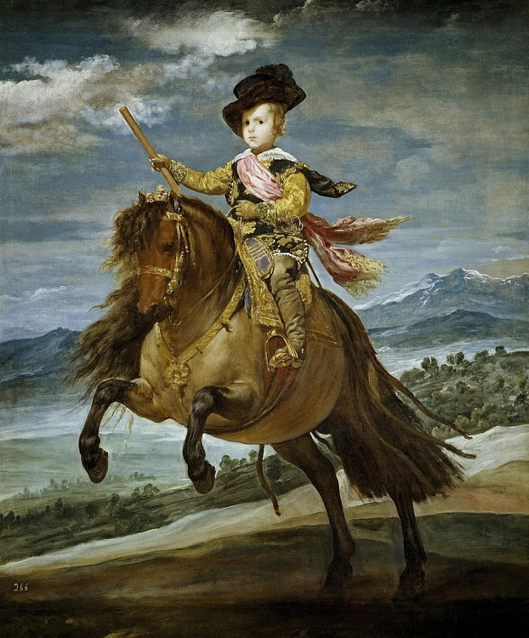 Diego Velazquez - Equestrian Portrait of Prince Balthasar Charles