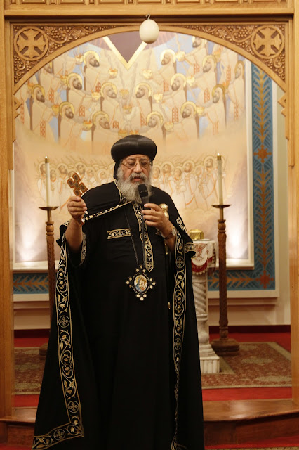 His Holiness Pope Tawadros II visit to St. Mark LA - _MG_0536.JPG