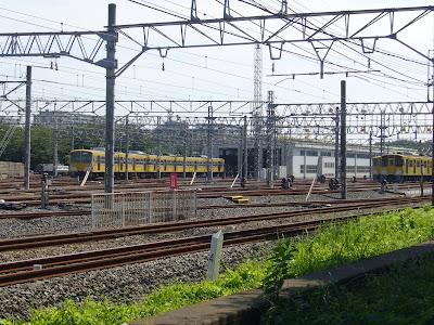 東京都の車両基地 - 車両基地