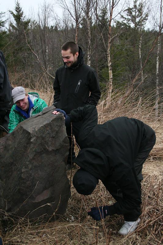 Kallioperägeologian kenttäkurssi, kevät 2012 - Kallioper%25C3%25A4kenttis%2B076.JPG
