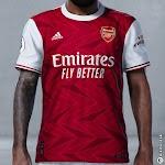 Berita Bocoran Jersey Arsenal Home 2020/2021 + Desain Template dan Celananya