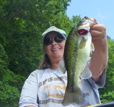 Utah Largemouth bass dove creek ranch tooele