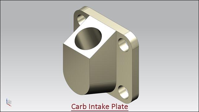 Carb Intake Plate