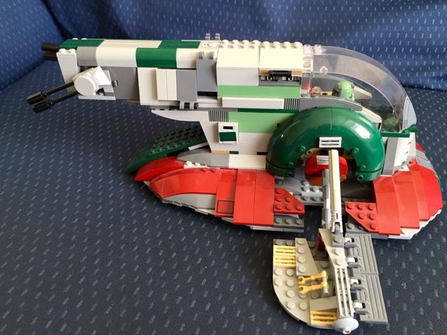 Star Wars Lego Slave 1