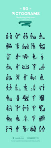 Freebie: Pictograms of Everyday Life