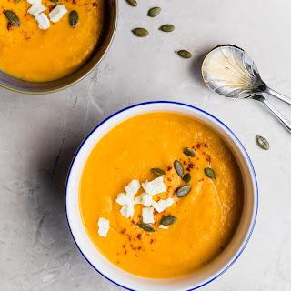 Festive Pumpkin Soup - Vegan and Paleo!.