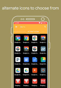 Axent MIUI Icon Pack Screenshot