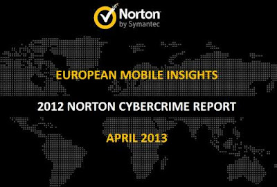Informe Norton cibercrimen 2012: Datos claves de la movilidad europea