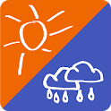 Dual Weather - Two weather reports side-by-side icon