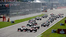 Start of the 2012 F1 GP of Italy