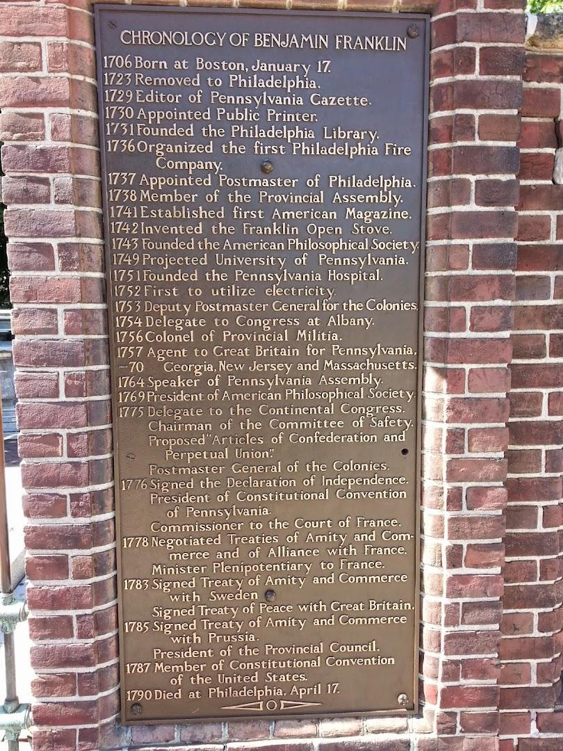 Ben Franklin's History