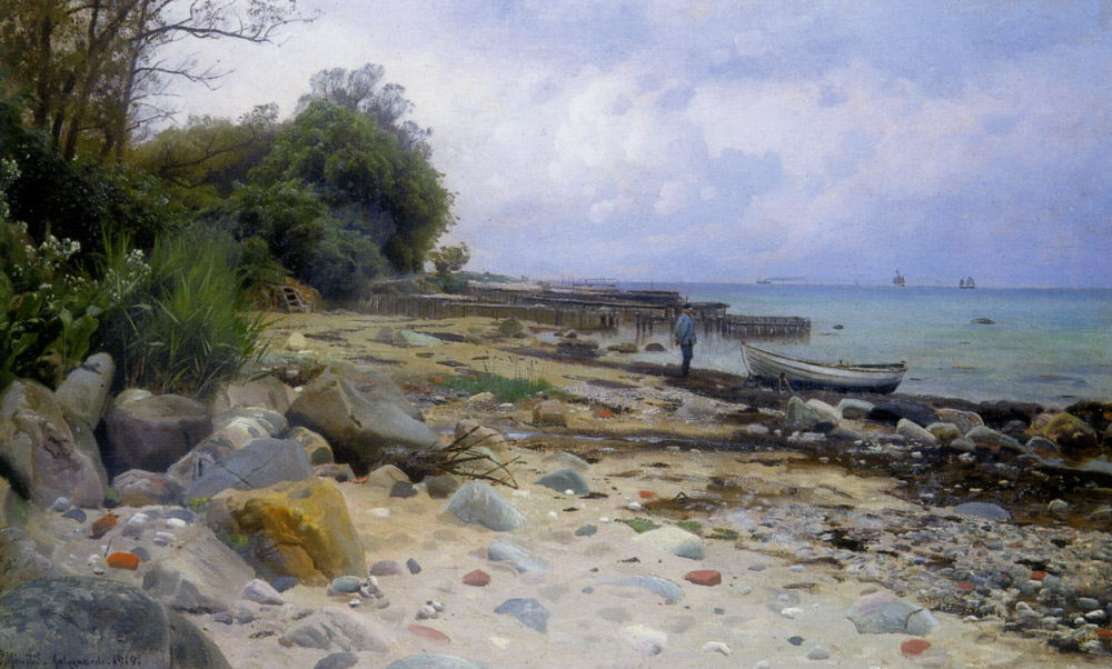 Peder Mork Monsted - Looking Out to Sea
