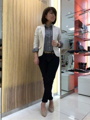 オンにもオフにも♡チェックシャツ | 姫路店