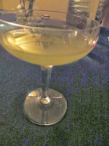 Morgan St Theater: Tiberius Quelled cocktail with Hendrick's Gin, Cucumber, Lemon