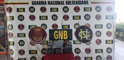 VENEZUELA: ORGANISMOS MILITARES INCAUTAN EQUIPOS DE MINERIA DE BITCOIN