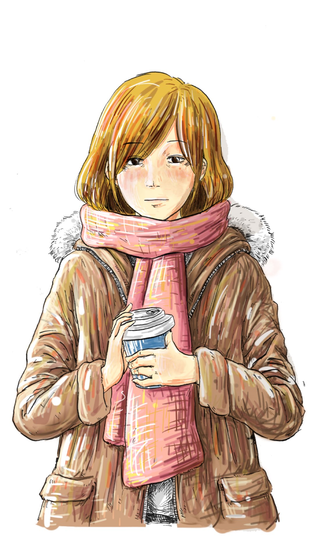 Winter made with Sketches
