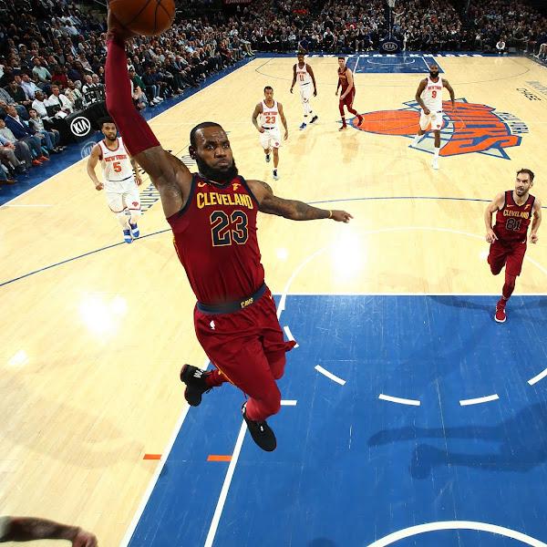 LeBron James Returns to New York in Im King Nike LeBron 15 PEs