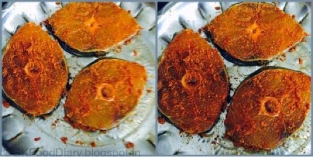 Vanjaram fish fry recipe vanjaram meen varuval seer fish for Homemade fish fry