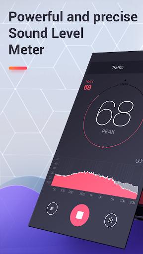 dB Meter - measure sound & noise level in Decibel  screenshots 1
