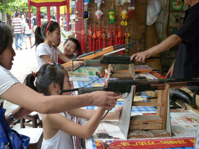 CHINE.SICHUAN.PING LE à 2 heures de Chengdu. Ravissant .Vallée des bambous - P1070505.JPG
