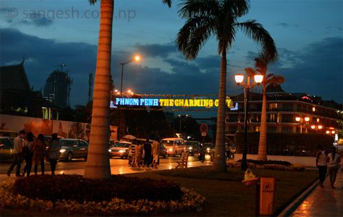 Street Photography on the street of Phnom Penh, Cambodia