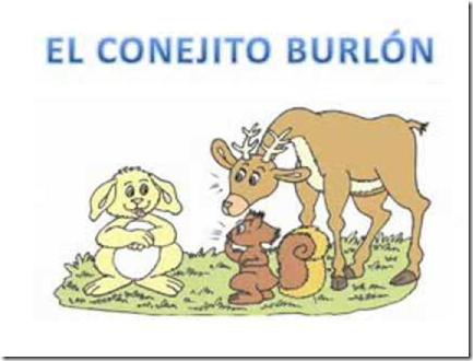 El conejito burlón cuento para niños