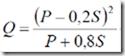 caudal-numero-curva