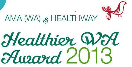 AMA (WA) and Healthway Healthier WA Award 2013