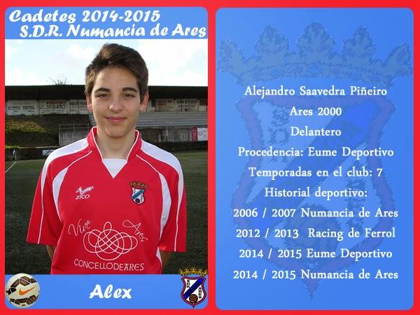 ADR Numancia de Ares. ALEX