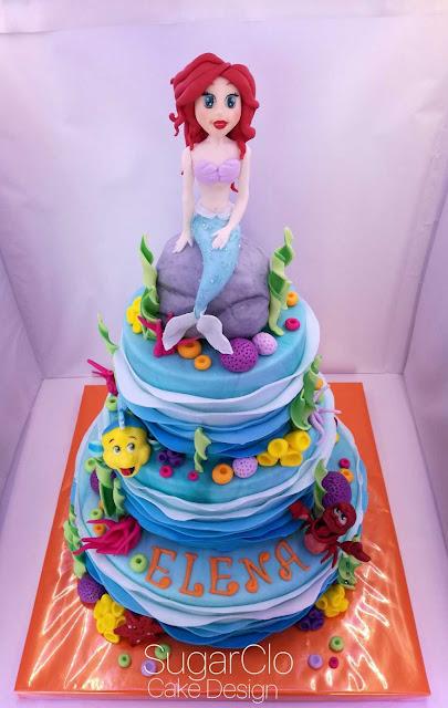 torta #sirenetta x la dolcissima elena