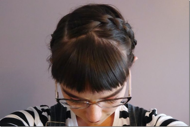 bangs and braids
