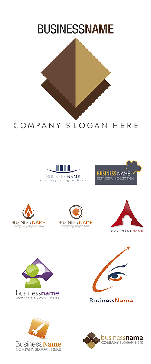 Stock: Logo vector business 5