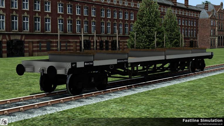 Fastline Simulation: BDO 60T Unfitted Bogie Bolster
