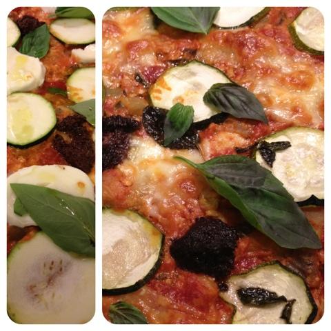 la pizza grecque au marlin aubergines courgettes feta et basilic blogs de cuisine. Black Bedroom Furniture Sets. Home Design Ideas