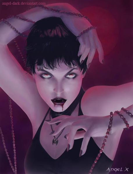 Gothic Vampire By Angel Dark, Vampire Girls 2