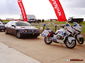 Malta President BMW and Police escort