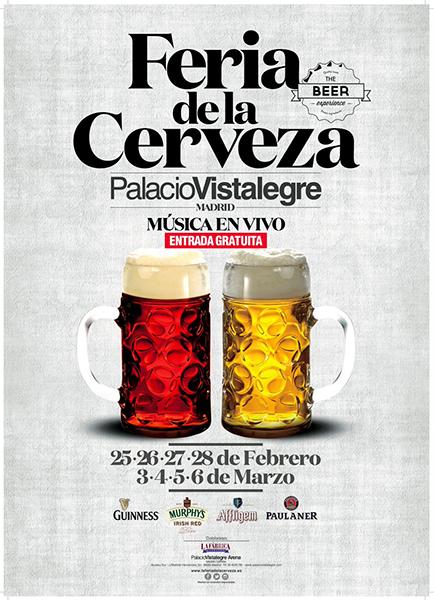 Feria de la Cerveza en el Palacio Vistalegre