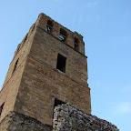 El campanario de la ciudad antigua