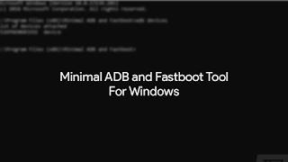 minimal-adb-and-fastboot-tool
