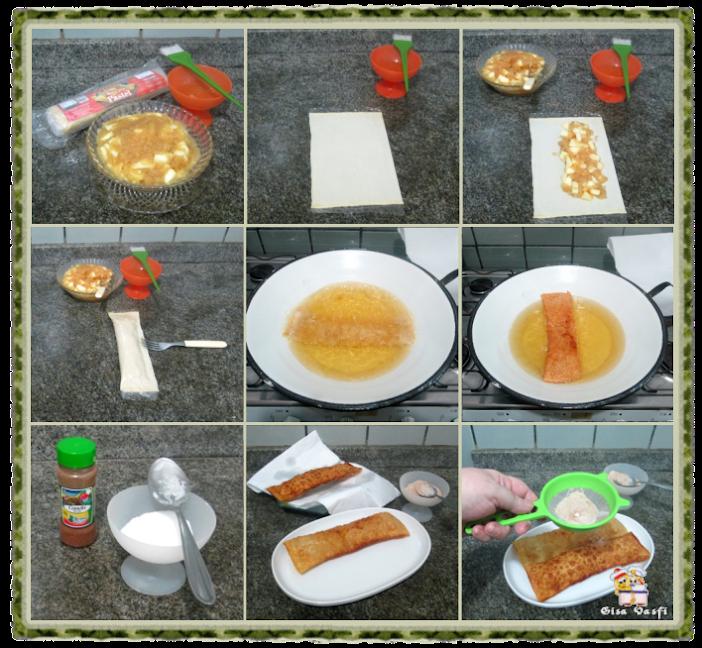 Torta prática de maçãs 4