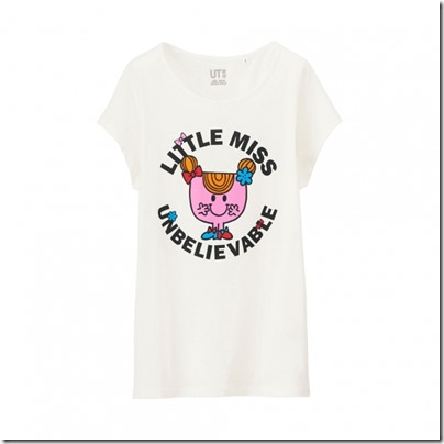 UNIQLO Mr. Men Little Miss UT Graphic T-Shirt woman 04