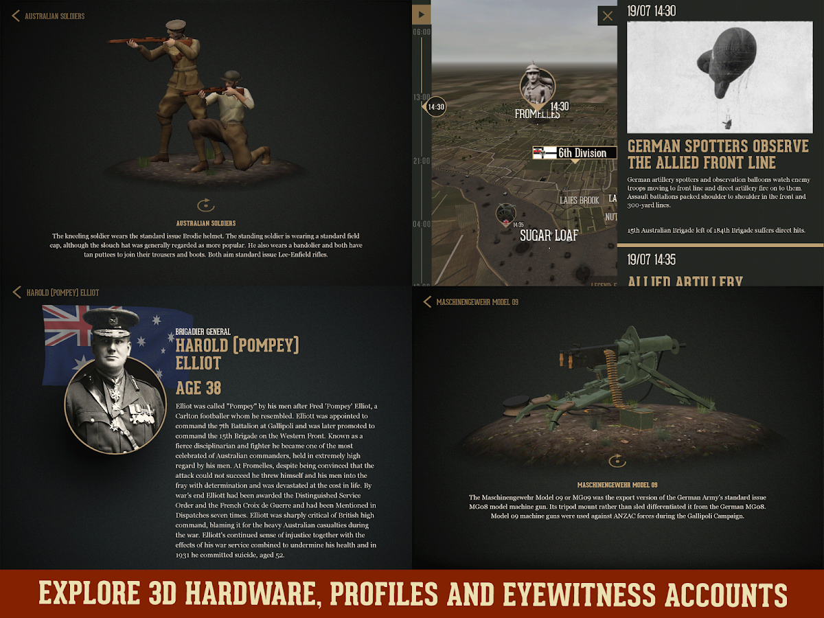 WW1:Fromelles and Pozieres- screenshot