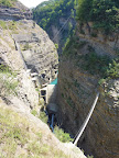 The View from the Start of the Via ferrata of Sautet Dam