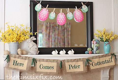 Peter Cottontail Banner