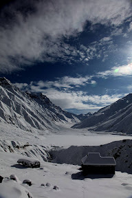 Winter mood of Lake Saif ul malook.